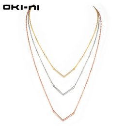 sterling silver multi chain UK - wholesale High Quality 925 Sterling Silver Choker Necklaces Luxury Jewelry Multi layer Necklace Engagement Gift For women XLYJM-105