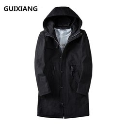 slim style army jackets 2019 - 2017 new style coats Men's fashion casual hooded trench coat Men high quality windbreaker jackets Free shipping che