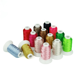 Wholesale Simthread Embroidery Machine Thread colors Y only sets left