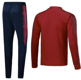 2018 2019 Usa PULISIC Soccer JACKET 18 19 DEMPSEY BRADLEY ALTIDORE WOOD  America Football Tracksuit set red long sleeve suit +pants 546388e3f