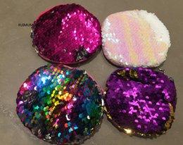 Little Coins NZ - Fashion , Round Shape , Size 10CM Approx. 1Piece Random- Key Chain Little Coin BAG Lady Girl's Cartoon Bright Plush Money Bag