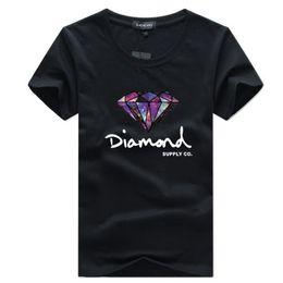c89a50ffd6 DiamonD tees online shopping - Mens T Shirt Fashion Short Sleeve T Shirt  Skateboard Brand Clothing