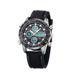 $enCountryForm.capitalKeyWord NZ - Men Wrist Digital Watch Sport Round Silicone Waterproof Fashion For Father's Day Gift LXH