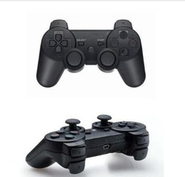 China wholesale Bluetooth Wireless Game Controller for Dualshock Playstation 3 PS3 Console Video Games Joystick Gamepad Retail Box cheap playstation box game suppliers