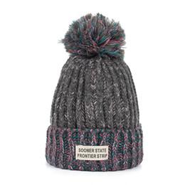 97ef8d735ec Wholesale Faux Fur Hats UK - Joymay New Women Faux Fur Pompom Hat Female  Winter Warm