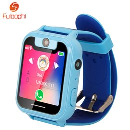 Smart watch phone 1.54 online shopping - Children Watches For Boys Girls S6 inch Touch Screen Smart Watch Phone SOS GPRS Location Camera Kids Smartwatch