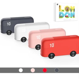 iphone bus 2019 - Bus Power Bank 10000mAh Portable Powerbank External Battery Cute Toy Gift For iPhone 7plus Honor Xiaomi