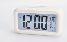 $enCountryForm.capitalKeyWord NZ - Smart Sensor Desk Table Clocks Mute Night Light Digital Alarm Clock With Temperature Thermometer Calendar Glowing In The Dark 14zj jj