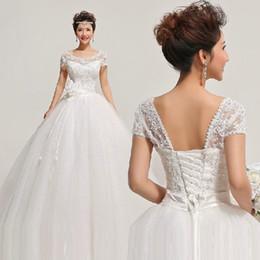 $enCountryForm.capitalKeyWord NZ - Pack shoulder wedding dresses 2018 new princess bride wedding dress Grace show thin togetherHS315