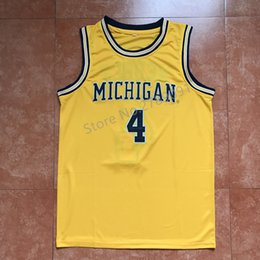 brand new 6d366 1320f coupon code for michigan wolverines 4 chirs webber white big ...