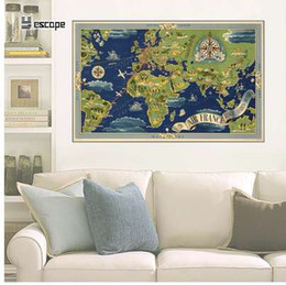 Shop Large Wall World Maps UK | Large Wall World Maps free delivery ...