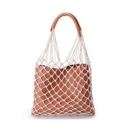 $enCountryForm.capitalKeyWord UK - INS Popular 2018 Hot Sale Female Fish Scales Shape Handbag Fashion Hollow Shoulder Bag Hand Woven Beach bag Women Handbag Sets