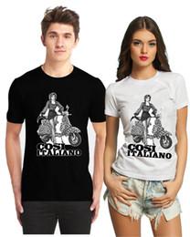 $enCountryForm.capitalKeyWord Australia - Cosi Italiano So Italian Retro Scooter Pin Up Girl Fathers Day Gift Mens T Shirt Cool Casual pride t shirt men Unisex