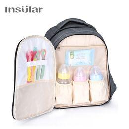 $enCountryForm.capitalKeyWord Canada - Insular Fashion Baby Diaper Backpack Cotton Fabric Maternity Nappy Bags For Stroller Bolsa Maternidade Mummy Nursing Backpack