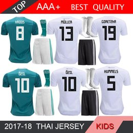 d3f82b1bf 2018 World Cup KITS AWAY Soccer Jersey HUMMELS 18 SOCK OZIL HOME WHITE  KROOS FOOTBALL SHIRT WERNER FUSSBALL-TRIKOT M.GOTZE GeRMany JERSEYS