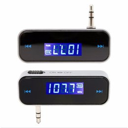 $enCountryForm.capitalKeyWord UK - Mini Transmitt 3.5mm Electronic In-car Car FM Transmitter Wireless LCD Stereo Audio Player For iPhone Samsung Galaxy Smartphone