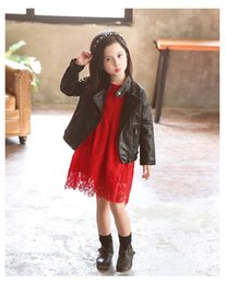 $enCountryForm.capitalKeyWord Australia - European and American style fashion winter children clothing PU leather long-sleeved motorcycle jacket outerwear for girls