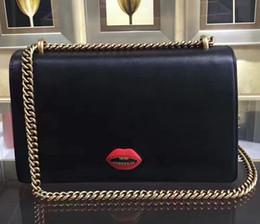 Genuine Leather Handbag Cowhide Shoulder Bag Australia - Red Heart Shape Decorate Handbag, Famous Designer Brand Genuine Leather Shoulder Bag With Vintage Gold Hardware Top Quality Cowhide 338