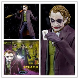 car actions 2019 - The Dark Knight - The Joker Action Figure Car Interior Decorations Interior Dashboard Decoration Orname Birthday Gift ch