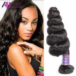 Human Hair weave for black women online shopping - Good A Brazilian Virgin  Hair Loose Wave 5886c9356d