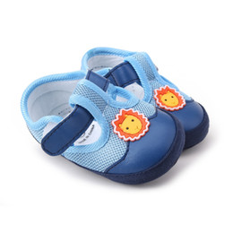 $enCountryForm.capitalKeyWord Australia - Newborn Baby Girls Boys Shoes First Walkers Infant Toddler Shoes Canvas Classic Sports Sneakers Soft Sole Anti-slip Baby