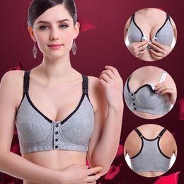 277ccaa6371f4 Plus Size Maternity Feeding Bras Pregnancy Breast Cotton Nursing Bra Dots  Sports Nursing For Women Ladies Underwear Bra