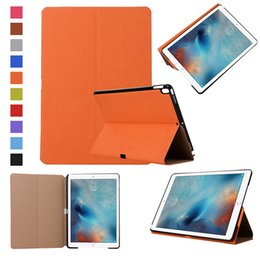 Leather Case Ipad Mini Brown NZ - Magnetic PU Leather Case Kickstand Auto Sleep Wake Cover For iPad Air 5 6 pro 9.7 10.5 11 12.9 mini 1 2 3 4 2017 Samsung Tab 2 4 A E S2 Opp