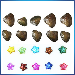 $enCountryForm.capitalKeyWord Australia - Wholesale New Product 8-10mm Five-pointed star Pearl in Freshwater Oyster shell For DIY Jewelry For big surprise Gift women party