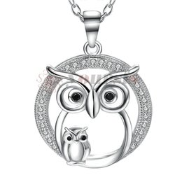 $enCountryForm.capitalKeyWord UK - Yoursfs Animal Necklace For Women Fox Rabbit Opal Owl Tortoise Sheep Necklace Love Gift N881W1