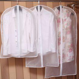 suit vacuum 2019 - 1Pcs Clothes Dust Cover Home Storage Bag for Garment Suit Dress Clothes Coat Pouch Case Container Organizer Vacuum Stora