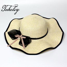 $enCountryForm.capitalKeyWord Australia - 2017 Fashion new products summer Travel on vacation flowers Lace wave Big eaves Beach sun hats
