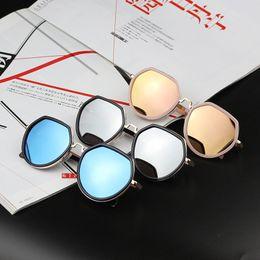 88898e74f 2018 Fashion kids Boys Kids Sunglasses Aviator Style Brand Design Children  Sun Glasses UV Protection boy girl sunglass 6 colors A9315