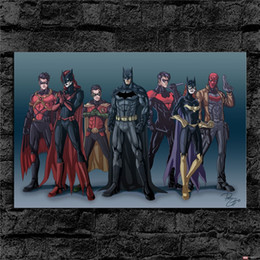 $enCountryForm.capitalKeyWord Australia - Batgirl Batman Nightwing Robin,1 Pieces Canvas Prints Wall Art Oil Painting Home Decor (Unframed Framed)