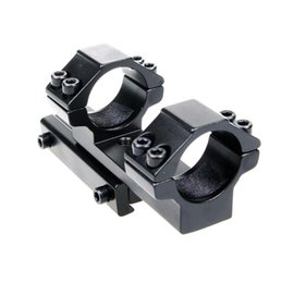 Wholesale 25 mm Ring Extended Style mm Dovetail Rail Rifle Scope Mount Black ht640