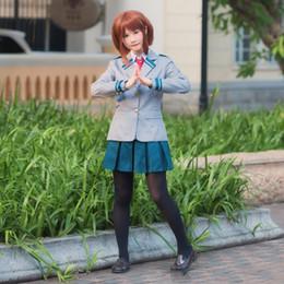 $enCountryForm.capitalKeyWord NZ - Anime No Hero Academia Cosplay Costumes Photography Props Midoriya Izuku Bakugou Katsuki OCHACO URARAKA School Uniform