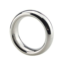 $enCountryForm.capitalKeyWord Australia - Stainless Steel Big Penis Rings Large Cock Ring Locking Metal Sex Toys Adult Game Sex Products for Men Couples Chastity Device