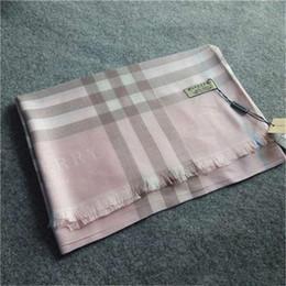 Hot marchio di lusso sciarpa 180 * 70cm nuovo stile di moda Classic britannici scialli controllati scialle caldo e addensato Designer