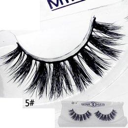 Top False Eyelashes Australia - 3D False Eyelashes 12 Styles Makeup 100% Real Natural Long Thick False Fake Eyelashes Eye Lashes Makeup Extension Beauty Tools Top Quality