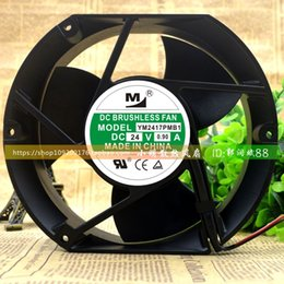 fans high temperature NZ - For New 17251 24V 0.90A YM2417PMB1 17CM Inverter Fan High Temperature Fan