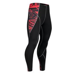 Discount men cycling tights - Mens Compression Pants 3D Print Wolf Skull Skinny Leggings Cycling Tights Pants Fitness Joggers Elastic Bodybuilding Tro