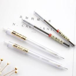 $enCountryForm.capitalKeyWord Australia - 6pcs Kawaii Transparent Body Mechanical Pencils 0.5mm 0.7mm refill pencils Stationery Office accessories school supplies 05818