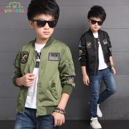 $enCountryForm.capitalKeyWord NZ - Spring Boys Teenager Casual Sports Motorcycle Baseball Jackets Windbreaker For Boys Coats Children Kids Baby Boy Clothes L381