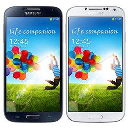 Wholesale Original Refurbished Samsung Galaxy S4 i9500 i9505 inch Quad Core GB RAM GB ROM MP G G LTE Unlocked Android Smart Phone DHL
