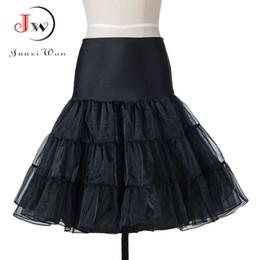 Discount women tutu wedding - Tutu Skirt swing Rockabilly Petticoat Underskirt fluffy pettiskirt for Wedding Bridal Vintage 50s Audrey hepburn Women B