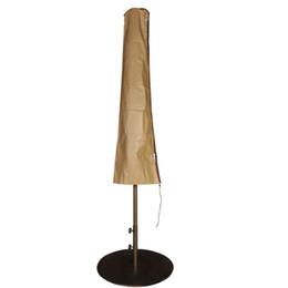 $enCountryForm.capitalKeyWord NZ - Abba Patio Outdoor Market Patio Umbrella Cover for 7-11 Ft Umbrella, Water Resistant, Brown