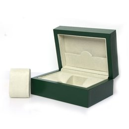 $enCountryForm.capitalKeyWord NZ - high quality Wooden Boxs Green Watchs Boxes Gift Box Crown Wooden box with Brochures cards Brand Wooden boxs