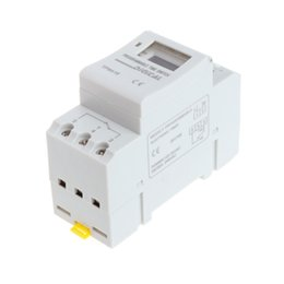 timer day 2019 - NEW 12V 16A Digital LCD 7-Day Programmable Timer Time Relay Switch H15 cheap timer day