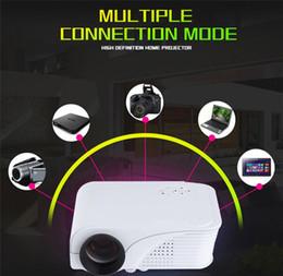 Mini Video Proyector Australia - 1080P HD Mini Proyector LED Portable HDMI VGA USB TF AV Video Projector Multimedia Projector HD Projector Home Theater for Movies Games