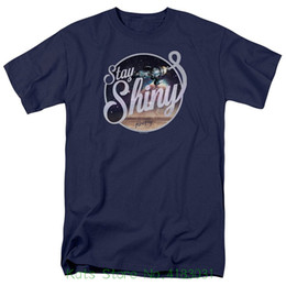 3b9369369af Firefly Stay Shiny Mens Short Sleeve Shirt T Shits Printing Short Sleeve  Casual O neck Cotton
