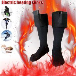 $enCountryForm.capitalKeyWord Canada - Outdoor Cold Weather Electric Heated Socks For Women and Men Snowboard Skiing 3V Battery Feet Warmer Heater Fishing Sport Socks